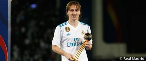 modric balon de oro del mundial de clubes real madrid cf