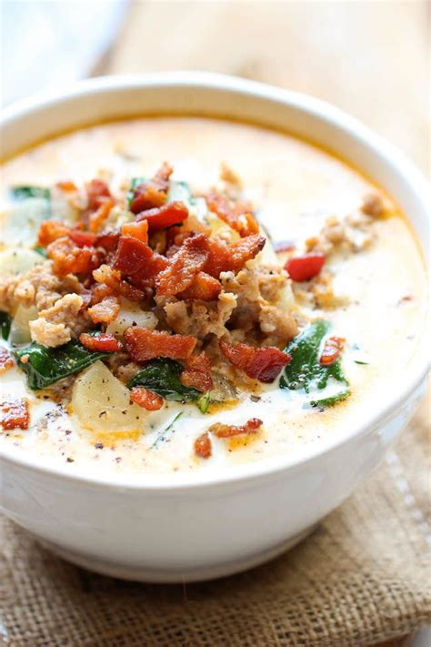 olive garden zuppa toscana 25 delicious soup recipes the idea room