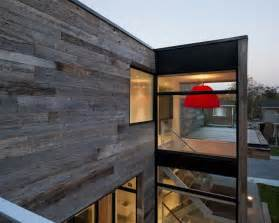 Red And Beige Kitchen by Minimalist Zen Like Barn With External Cladding In Ottawa