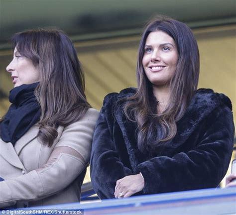 Rebekah Vardy covers up in glam fur coat at Chelsea game ...