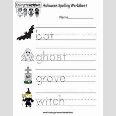 Halloween Printable Activities For Kindergarten  Festival Collections
