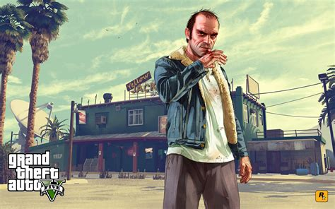 New Gta V Artwork Celebrates Anniversary  Gta 5 Cheats