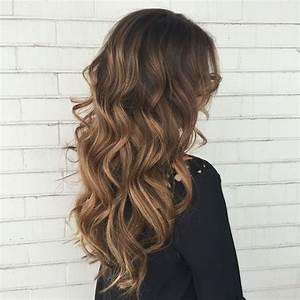 Balayage Cheveux Bouclés : caramel mocha balayage hair makeup pinterest ~ Dallasstarsshop.com Idées de Décoration