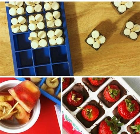 cuisine astuce 10 astuces cuisine à réaliser avec un bac à glaçon les
