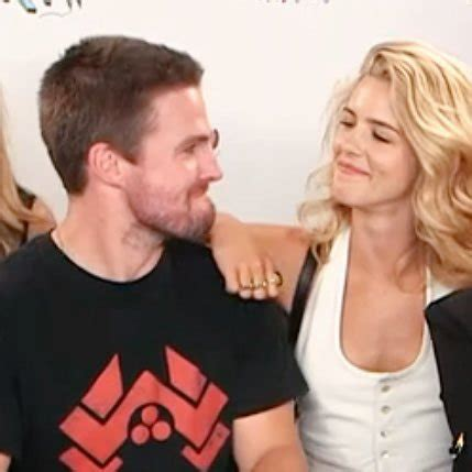emily bett rickards chris evans emily bett rickards and stephen amell www pixshark