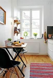 Küchentisch Kleine Küche : die 25 besten ideen zu kleine wohnung einrichten auf pinterest m bel f r kleine wohnungen ~ Watch28wear.com Haus und Dekorationen