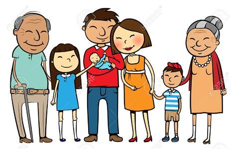 Family Cartoon Clipart
