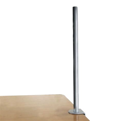 700mm Desk Clamp Pole, Silver  From Lindy Uk