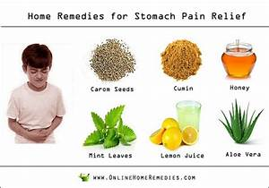 10 Amazing Home Remedies for Stomach Pain Relief ...