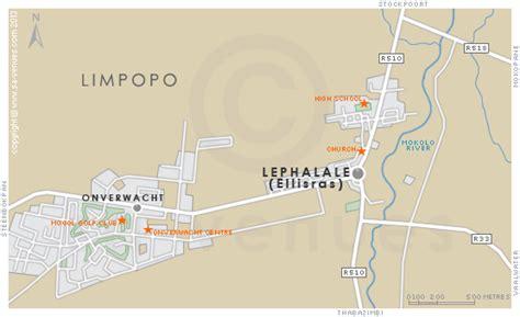 LEPHALALE Map