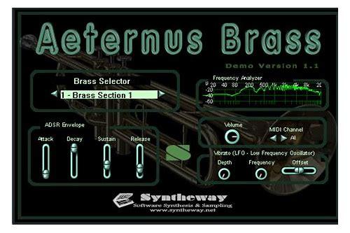 baixar aeternus brass vsti free