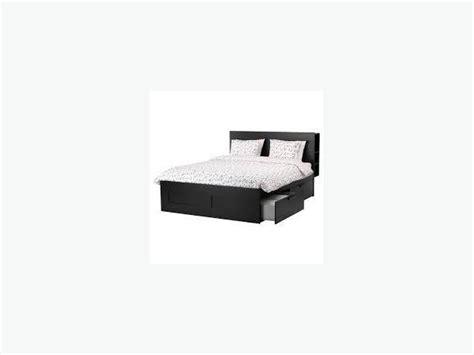 King Size Platform Bed Frame, Ikea Victoria City, Victoria