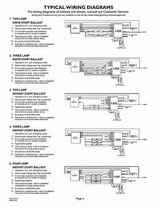 Lithonia Emergency Ballast Wiring Diagram