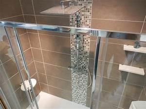 beautiful salle de bain taupe et chocolat images With carrelage salle de bain beige et chocolat