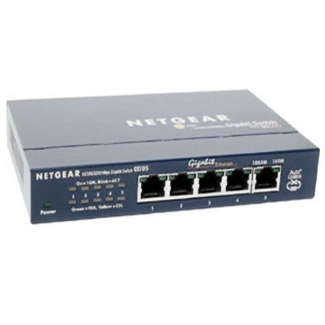 Netgear Prosafe 5 by Netgear Prosafe 5 Gigabit Switch
