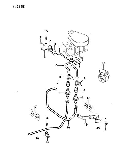 Jeep Wrangler Vacuum Diagram For 1987 by 1987 Jeep Wrangler 4 2l Engine Diagram Jeep Wiring