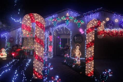 10 top christmas light displays in citrus heights citrus