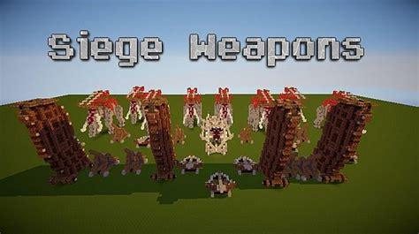 minecraft siege lotr siege weapons minecraft project