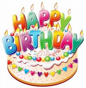 Funny Birthday Cake Clipart