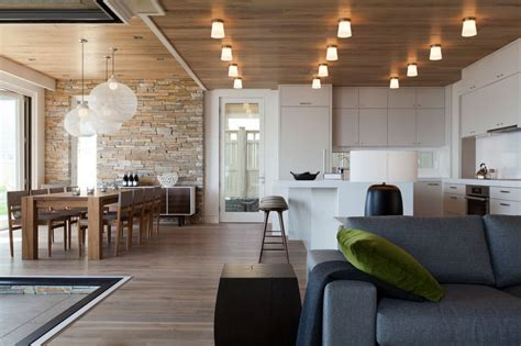A Modern Apartment Celebrates The Look Of Natural Wood : Contemporary Vs. Modern Style