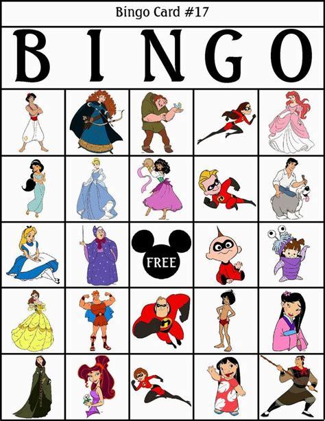 bingo de personajes disney para imprimir gratis paper doll disney and bingo