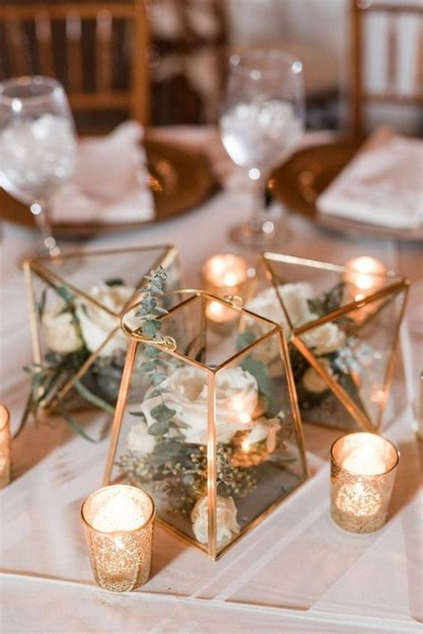 40+ Chic Geometric Wedding Ideas for 2018 Trends Page 2
