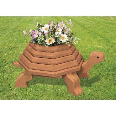 mary maxim  tortoise planter wood pattern  items