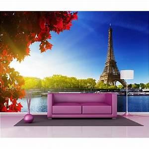 Papier Peint Geant : papier peint g ant d co tour eiffel 250x360cm art d co ~ Premium-room.com Idées de Décoration