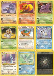 My rare Old Pokemon cards