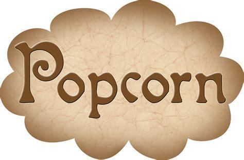 Pantry Label: Popcorn   Rooftop Post Printables
