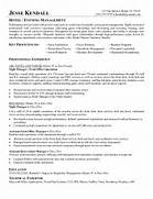 Hotel Management CV Letter Guest Service Representative Resume Examples Hotel Example Innkeeper Resume Free Sample We Can Help With Professional Resume Writing Resume
