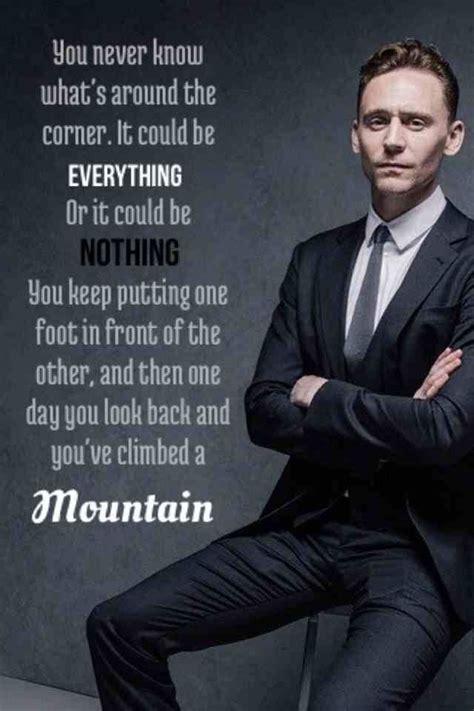 Tom Hiddleston Waxwork Looks Nothing Tom Hiddleston Quotes Mountain Wattpad