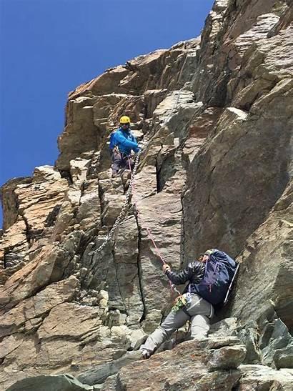 Matterhorn Climbing Ridge Lion Via Mountain