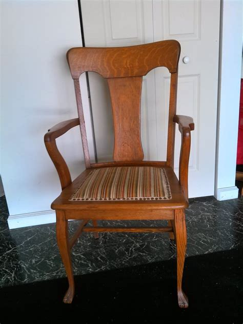 antique tiger oak dining chairs set of 7 orlando 34482