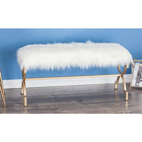 faux fur bench vertex garden rocker comfort kneeler bench gb2665 gn the