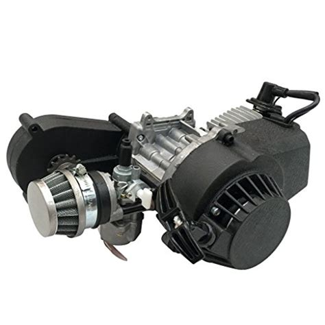 tdpro 2 stroke engine motor with gear box for 47cc 49cc 50cc import it all