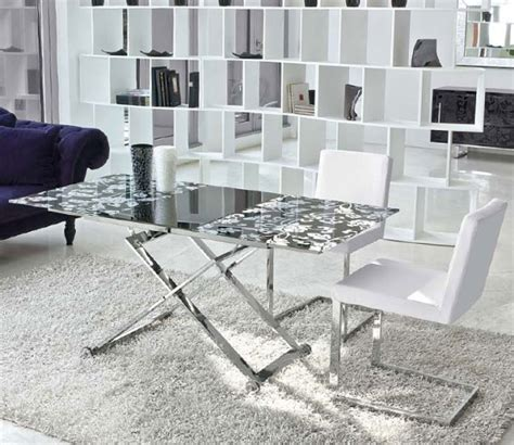 space saving end table amazing space saving coffee tables that convert into a dining table hometone home automation 5632