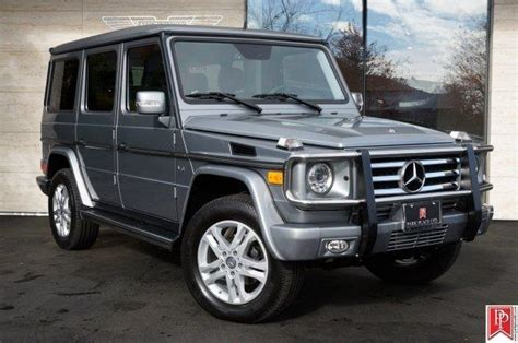 Every used car for sale comes with a free carfax report. Mercedes-Benz G550 SUV for Sale in Bellevue, Washington ...