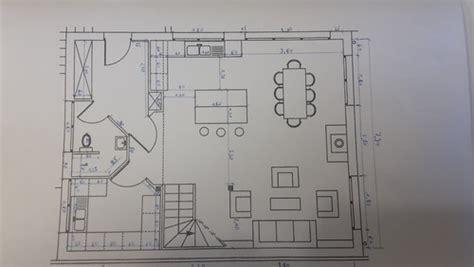 plan de cuisine ouverte sur salle à manger ilot central ou plan snack dans ma cuisine ouverte