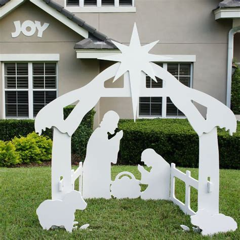 christmas outdoor joy sign decoration