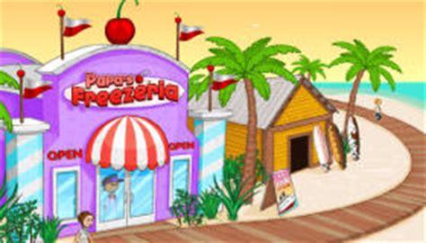 papa freezeria jeu de restaurant jeux  cuisine html
