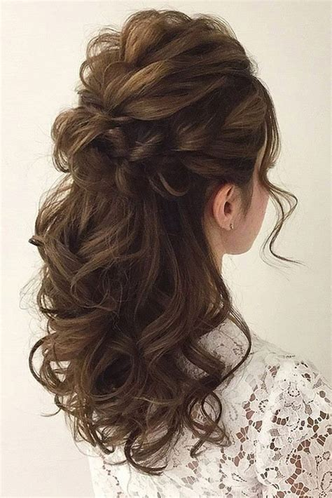 Wedding Hairstyles For Hair by 25 Awesome Wedding Hair Half Up Ideas My Stylish Zoo