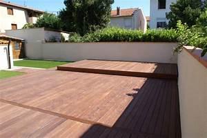 nivremcom terrasse bois couverture piscine diverses With couverture de terrasse en bois