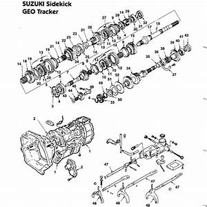 1996 Geo Tracker Wiring Diagram Manual Trans