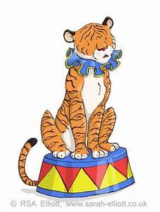 Circus Tiger Clipart