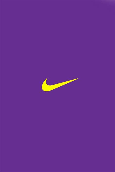 One of the most iconic logos of all time, the nike swoosh, was created in 1971 by a young graphic designer, carolyn davidson. Nike Logo Wallpaper iPhone - WallpaperSafari