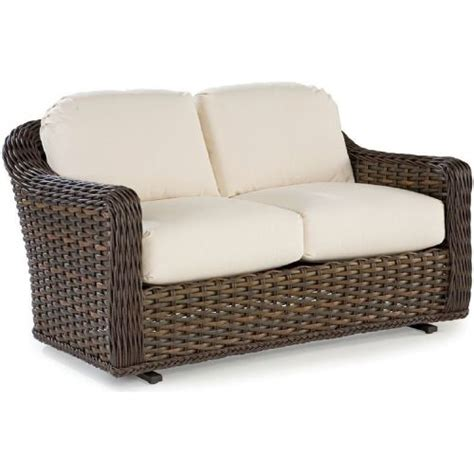Wicker Loveseat Glider by Venture Replacement Cushions Loveseat Glider