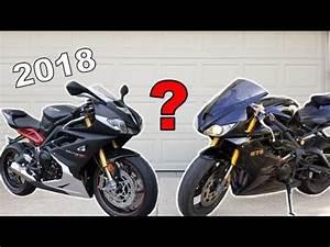 Triumph Daytona 2018 : 2018 triumph daytona 765 youtube ~ Medecine-chirurgie-esthetiques.com Avis de Voitures