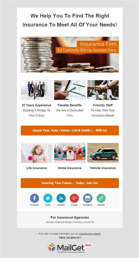 best email 10 best insurance email templates insurance agencies mailget