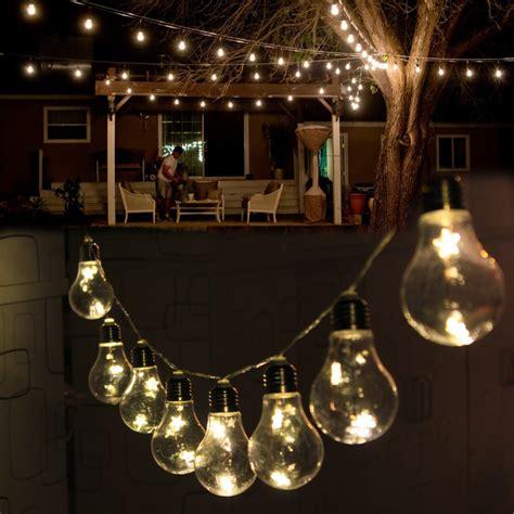 edison bulb string lights indoor 5m 20 led 10 edison bulb light string fairy outside lamp